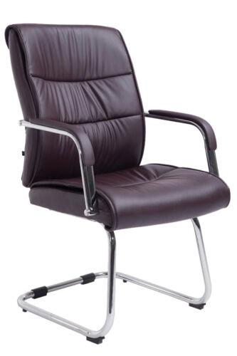 Besucherstuhl Sievert mit Armlehne Freischwinger Konferenzstuhl Wartestuhl