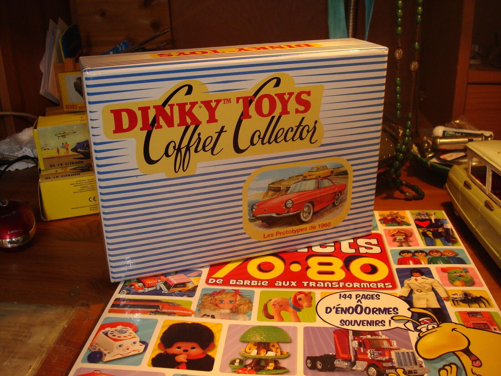 DINKY TOYS ATLAS  COFFRET COLLECTOR  N° 500.60  LES ProjoOTYPES DE 1960