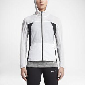 Details about Nike Impossibly Light Damen Laufjacke 831546 100 Women's Fitness White New L