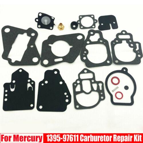 Boat Carburetor Rebuild Kit Gasket For Mercury 6-25hp 2 Cylinder 1395-9761-1
