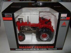 MF-98-MASSEY-FERGUSON-farm-model-tractor-trekka-trattore-ERTL-BRITAINS-SIKU