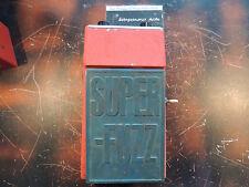 VINTAGE UNIVOX SUPER FUZZ EFFECTS PEDAL SHIN EI  MADE IN JAPAN UNICORD ORANGE