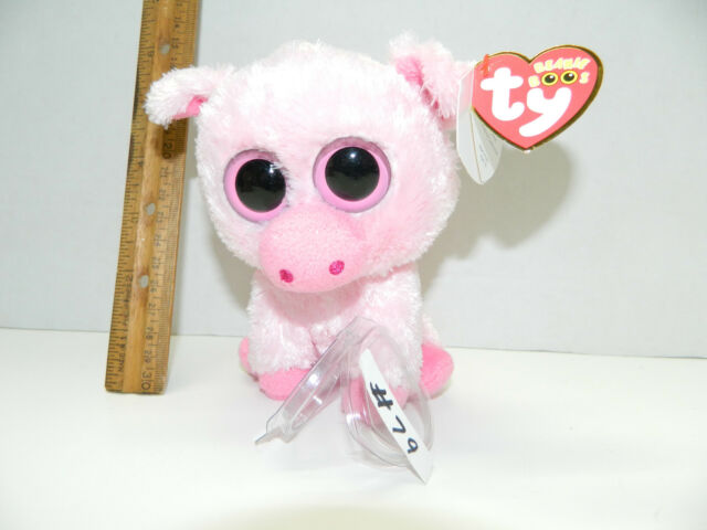 "a704494c0fc Ty Beanie Boo 6"" Corky The Pig Birthday April 21 MWMT Retired Style ..."