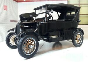 1:24 Echelle 1925 Ford Modèle T Noir Détaillé Voiture Miniature Peaky Blinders