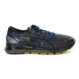 ASICS Men's Gel-Nimbus 21 Winterized Graphite/Black Running Shoes 1011A633.02...