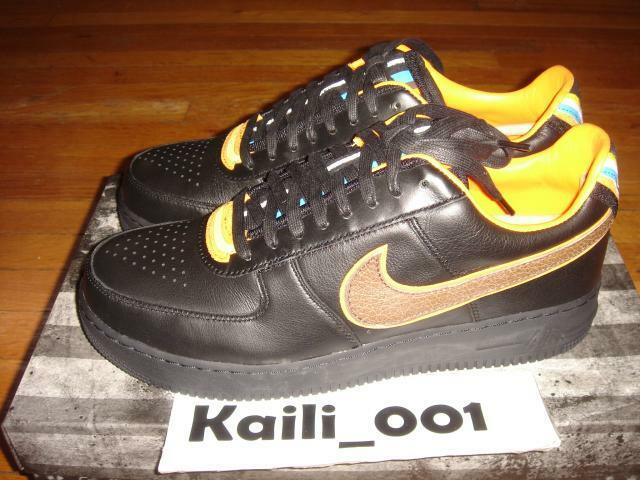 Nike Air Force 1 SP   TISCI Low Size 12 Black 677802-020 B