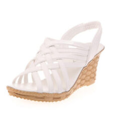 9330be04943 Ikrush Women's Bonnie Studded Espadrille Wedge Sandal in White Size ...