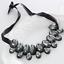Fashion-Elegant-Women-Rhinestone-Crystal-Choker-Bib-Statement-Pendant-Necklace thumbnail 29