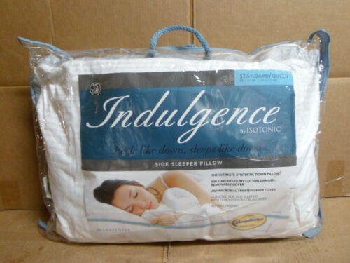 Isotonic Indulgence Synthentic Down Alternative Std//Queen Side Sleeper Pillow