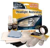 Car Headlight Restoration Kit Sylvania Free Shipping
