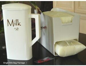 Image Is Loading Milk Bag Pitcher Organizer Amp