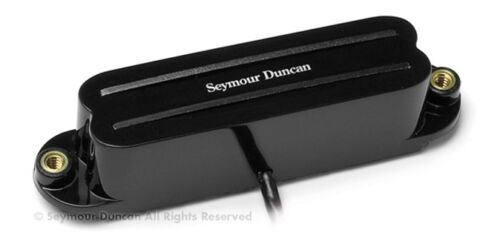 SEYMOUR DUNCAN STRAT HUMBUCKER COOL RAILS NECK MIDDLE BLACK SCR-1n
