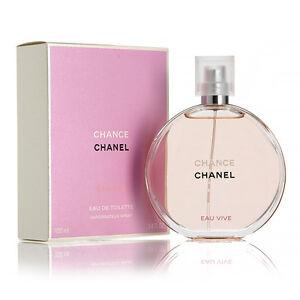 Chance Eau Vive by Chanel Women Perfume Eau De Toilette Spray 3.4 oz ... 62ba4130b