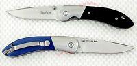 3160 1 Black/1 Blue Pair Kershaw Crown 3160 Pocket Knives Micarta Handle