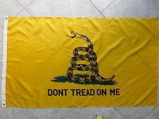 GADSDEN - DON'T TREAD ON ME - TEA PARTY  FLAG 3X5