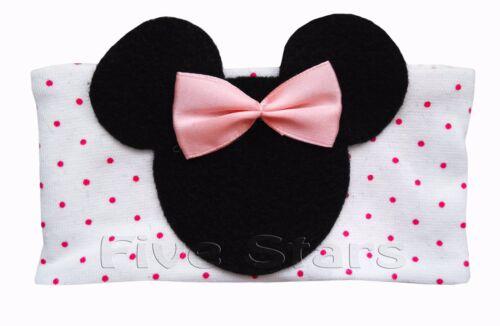 Newborn Baby Girl Infant Kid Headband Cotton Hairband Minnie Mouse Hair 0-12 m