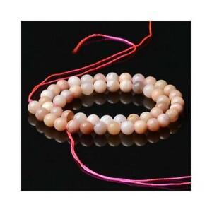 Opal-Round-Beads-7-8mm-Pink-45-Pcs-Gemstones-DIY-Jewellery-Making-Crafts