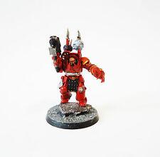 Warhammer 40k caos ejército espacio Marina caos señor en Terminator Armour Pintado