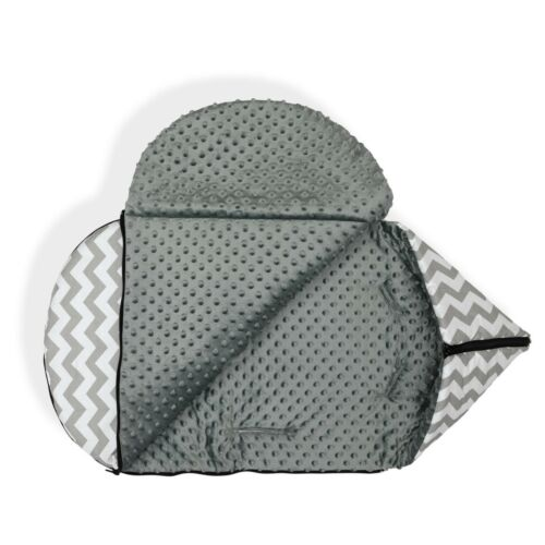 Universal Baby Stroller cosy toes Liner Buggy Padded Luxury Footmuff hooded