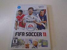 FIFA Soccer 11  (Nintendo Wii, 2007) EA Sports