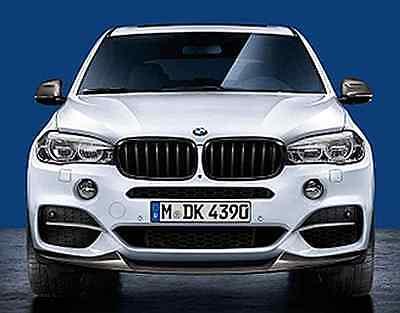 rechts schwarz X5 F15 Original BMW M Performance Frontziergitter Gitter links