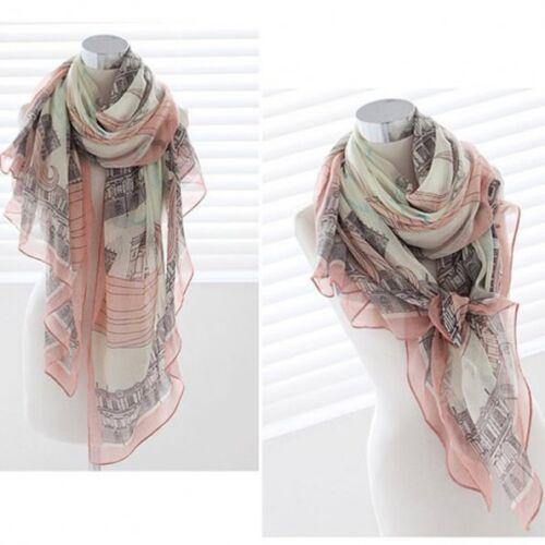 1PC Stylish Women Girl Long Print Cotton Scarf Shawl L Pashmina Summer Winter