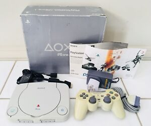PS-ONE-Sony-Playstation-Console-Boxed-PS1-PAL-Play-Station-Controller-COMPLETE