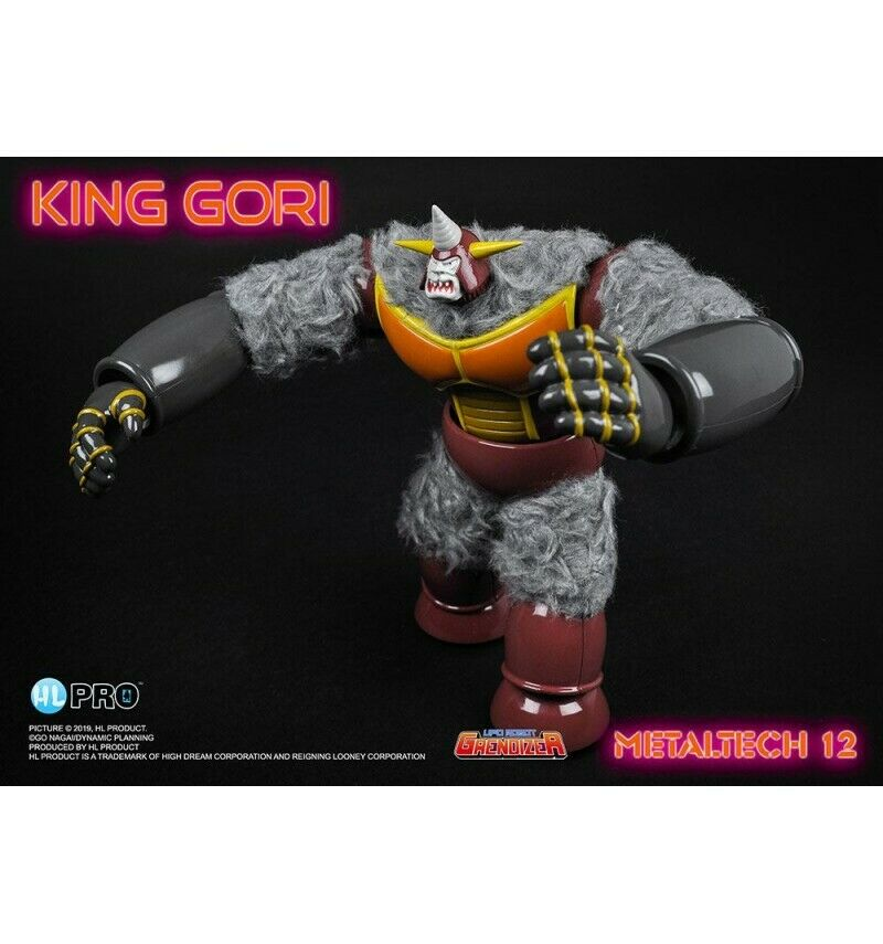High Dream Figurine Metaltech 12  re Gori Die Cast