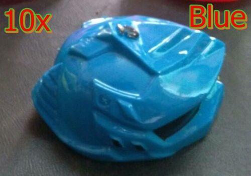17inch doll/'s helmet brown leather Pinkdoll/'s helmet Blue 30  pieces