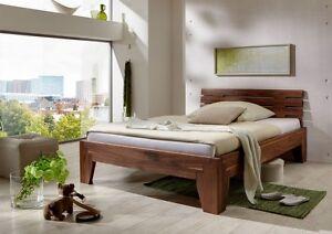 bett stella nussbaum massiv metallfreies stecksystem massivholzbett holzbett ebay. Black Bedroom Furniture Sets. Home Design Ideas