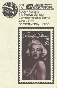 2967-FD-Program-32c-Marilyn-Monroe-Stamp-New-Port-Richey-FL