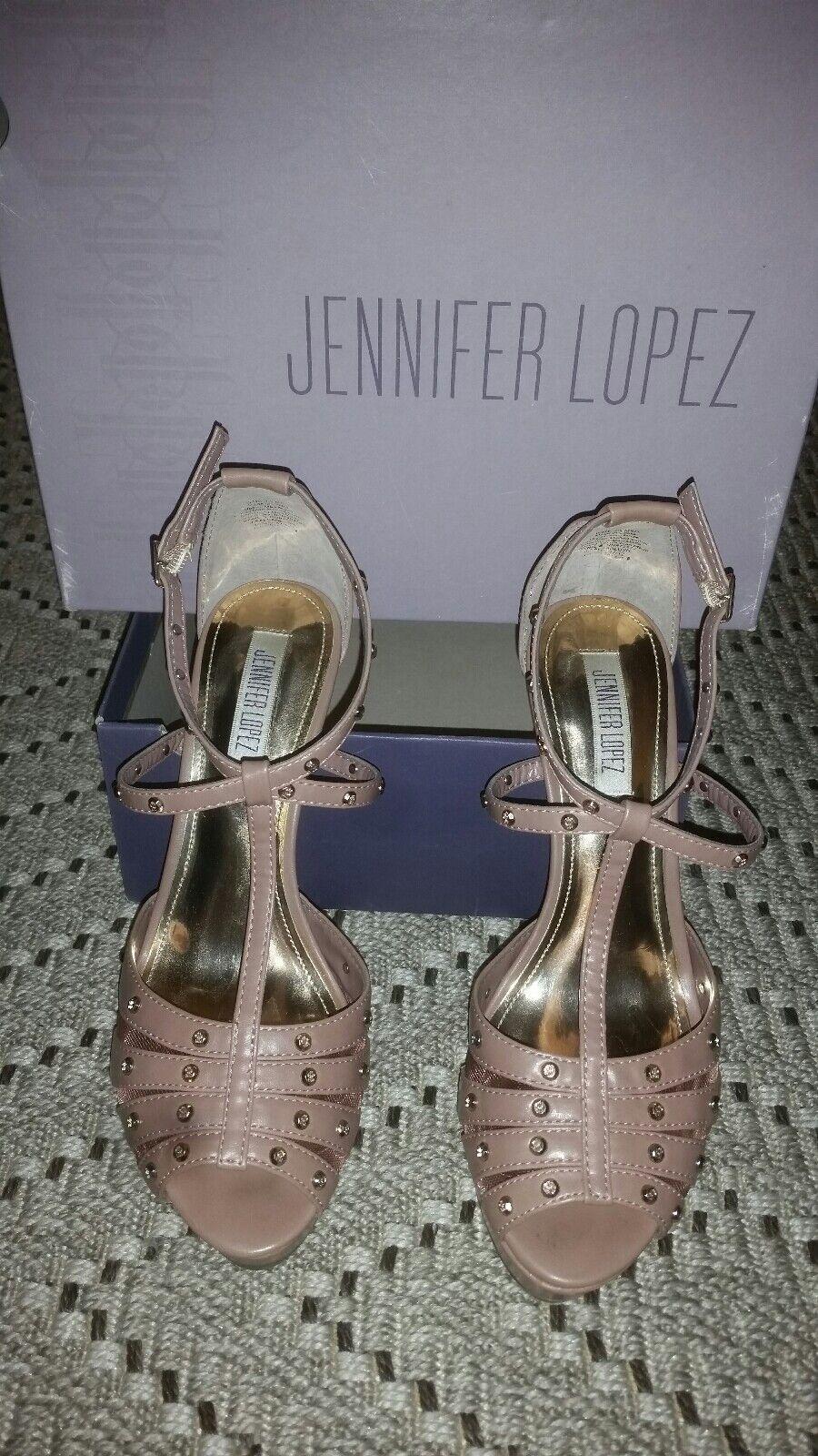 Jennifer Lopez Jl Jl Jl Tacón Alto Zapato de vestido  los clientes primero