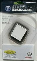 Official Nintendo Gamecube Memory Card 1019 32mb Genuine Factory Sealed