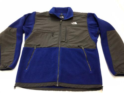 North Face Men's Denali Jacket Blue / Gray Men's L