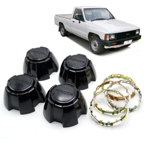 Clip Lock Fits Toyota LN50 Pickup Truck 83 85 86 88 Wheel Center Cap Black