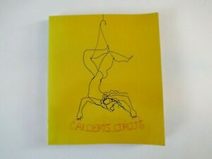Calders-Circus-1972-First-Edition-Paperback-Whitney-Museum-Of-American-Art