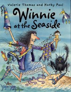 Winnie-at-the-seaside-by-Valerie-Thomas-Paperback-softback-Amazing-Value