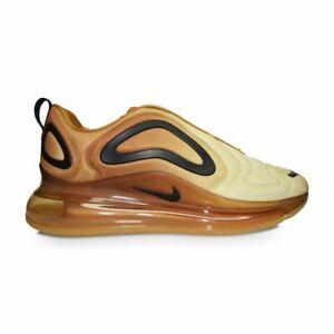 Incompetencia Opaco arrojar polvo en los ojos  Mens Nike Air Max 720 - AO2924700 - Wheat / Black - Club Gold | eBay