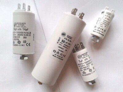 40 µF mit Kabelanschlüsse,NEU,TOP Betriebs//Motorkondensator 2,5 µF