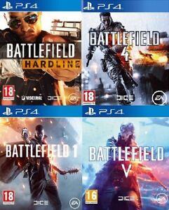 Campo-di-battaglia-PS4-assortiti-compra-1-o-Copriti-Playstation-4-Nuovo-di-zecca-Super-veloce-del