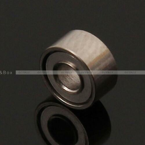 5//10PCS MR52 62 85ZZ 2x5x2.5 2x6x2.5 5*8*2mm Shielded Flanged Ball Bearings