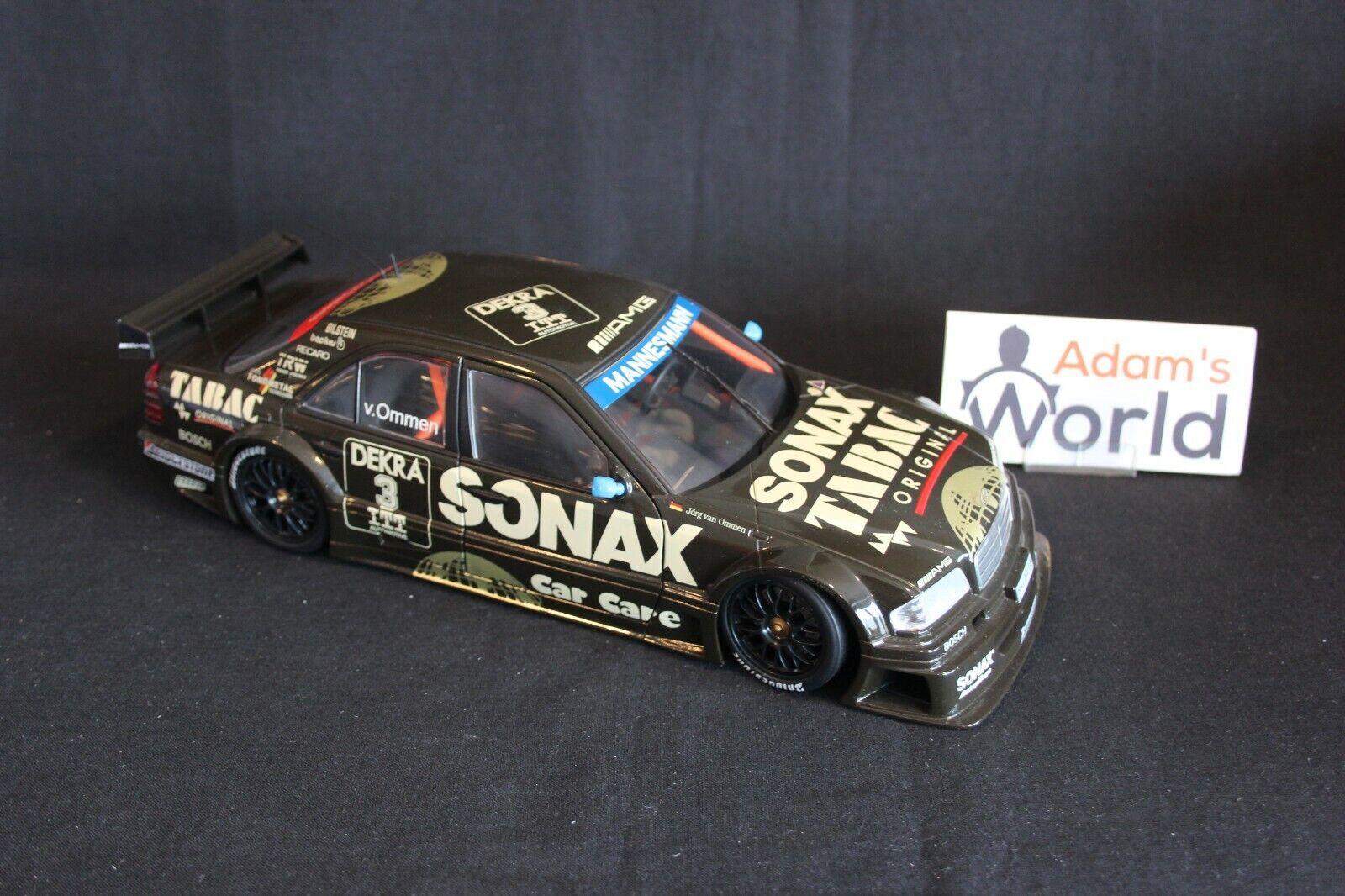 UT Model AMG Mercedes C-Class V6 DTM 1995 1 18  3 Jörg van Ommen (GER) (JS)