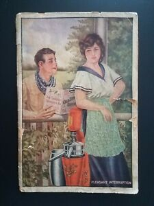 1910 Era Sharples Separator Co. Pleasant Interruption Song Book West Chester PA