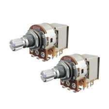 2pcs Push Pull Guitar Switch Pots A500k Short Shaft Guitar Bass Potentiometer