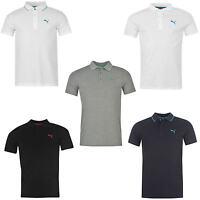 PUMA Pique Jersey Polo Shirt Poloshirt S M L XL XXL schwarz weiß dunkelblau rot