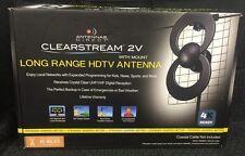 Antennas Direct Clearstream 2V Long Range HDTV Antenna w/ Mount 4K Ready C2V-J3