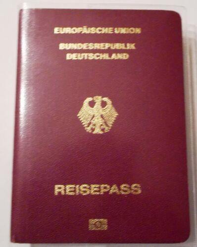 transparent 5 Stück Passend für neue Deutsche Reisepässe Reisepasshülle