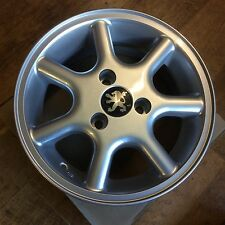 "Genuine new Peugeot 106 13"" 3 stud alloy wheel rim 9606EF 9606Q5 5.5J13CH3-20"