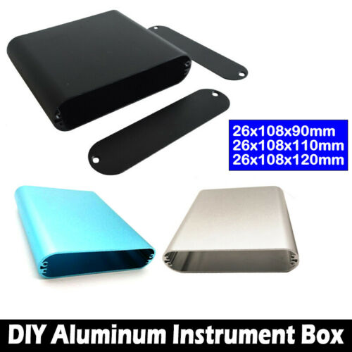 Aluminum Project Box Aluminum Enclosure Case Electronic DIY
