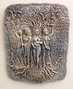 Brigid Celtic Wall Decor Maiden Mother